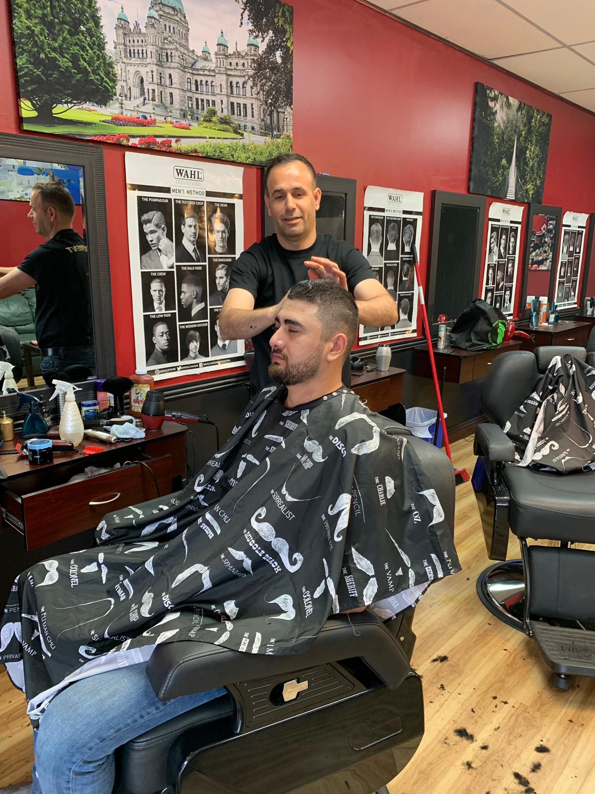 Barber shop victoria